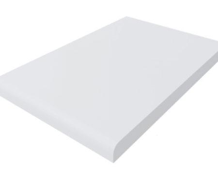 Biały matowy