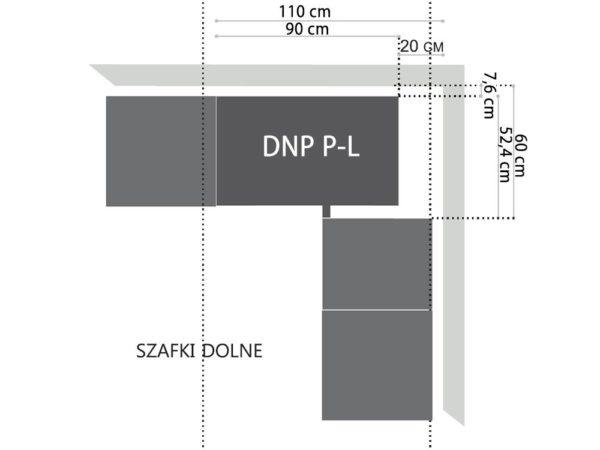 Szafka DNP P-L