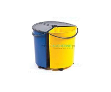 Obrotowy zestaw do segregacji odpadów
