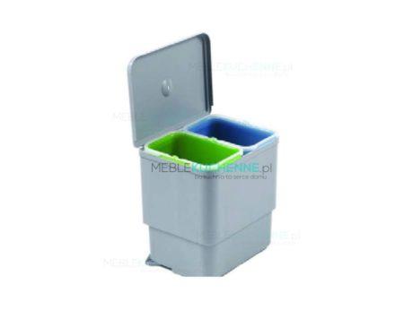 Wiszący pojemnik na odpady 2x8L