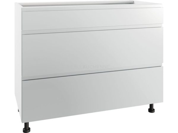 Szafka Vegas PSZ 100-3 Grey metalic z szufladami