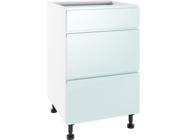 Szafka Vegas PSZ 50-3 Blue dolna z szufladami