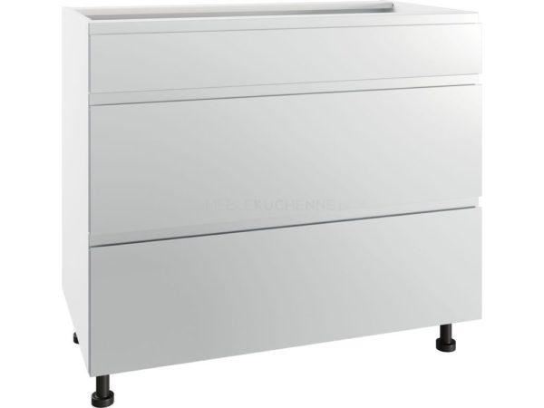 Szafka Vegas PSZ 90-3 Grey metalic z szufladami