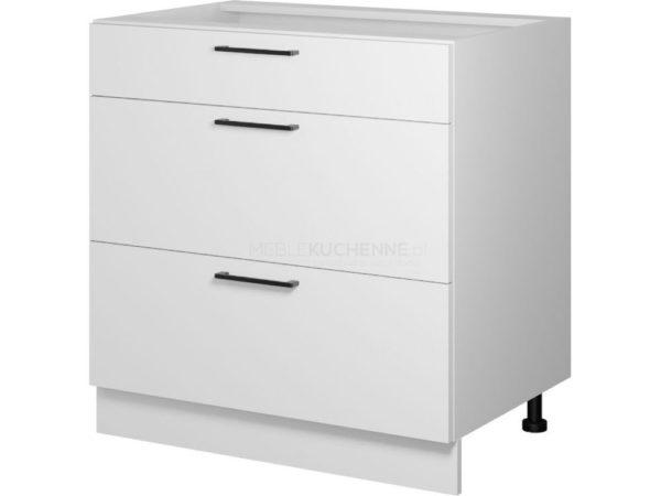 Szafka Bono D80 S-3 z szufladami biała alaska