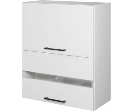 Szafka Bono W60 GRF-2 SD witrynowa biała alaska