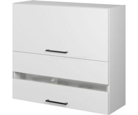 Szafka Bono W80 GRF-2 SD witrynowa biała alaska